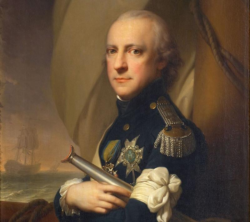 Иоганн Баптист Лампи старший. Портрет герцога Сёдерманландского 1799