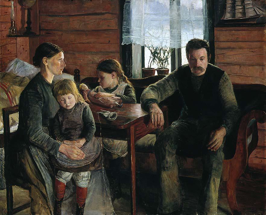 Свен Йоргенсен (1861-1940) – Безработный
