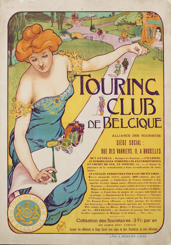 Жорж Гауди (1872-1940, Бельгия) – Туристический клуб Бельгии. 1901