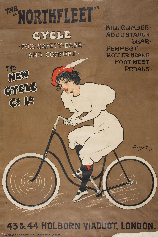 Dudley Hardy – Велосипеды Northfleet, 1903