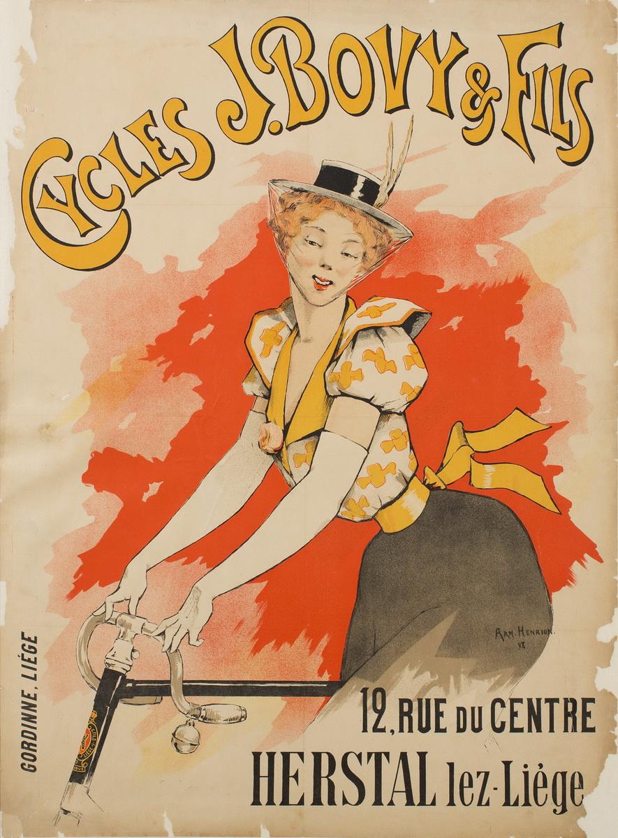 Armand Henrion – Велосипеды J. Bovy & Fils, 1898
