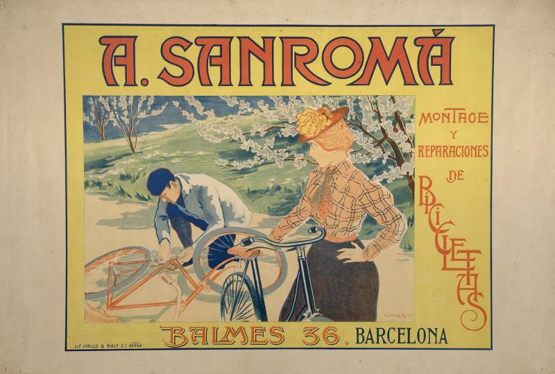 Joan Llaverias Labro - A. Sanroma – Сборка и ремонт велосипедов, 1900