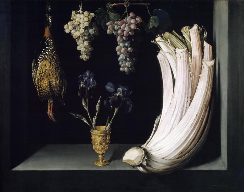 Фелипе Рамирес (Испания, известен в 1628-1632). Натюрморт с … 1628. Прадо
