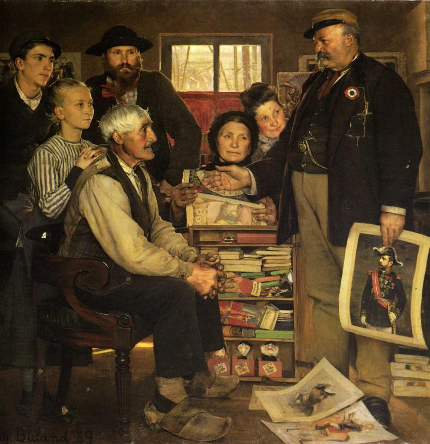 Жан-Эжен Бюлан (Франция) Пропаганда 1889