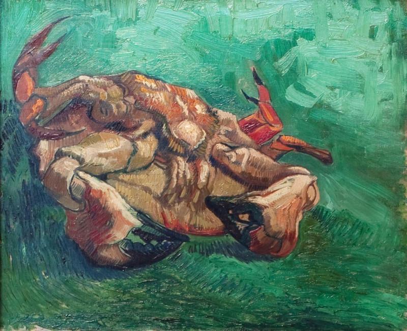 Винсент ван Гог. Краб с тыла 1889