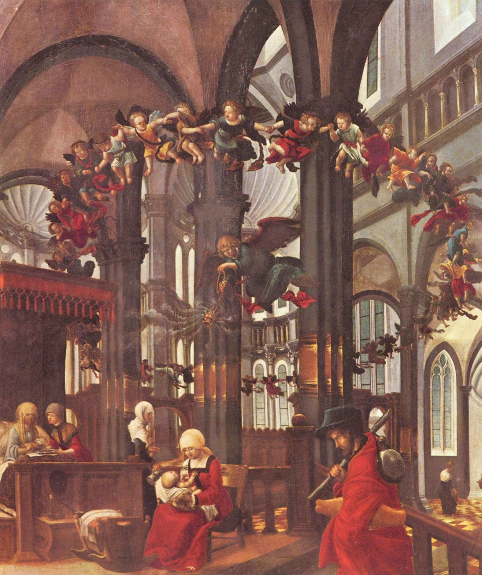 Альбрехт Альтдорфер (Регенсбург). Рождество Марии. 1520-1525