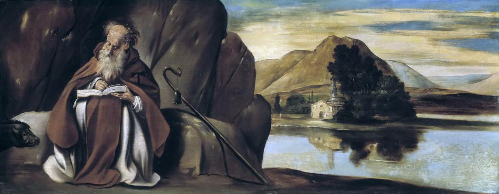 Хуан Батиста дел Майно (Испания) Святой Антоний в пейзаже 1612-1614