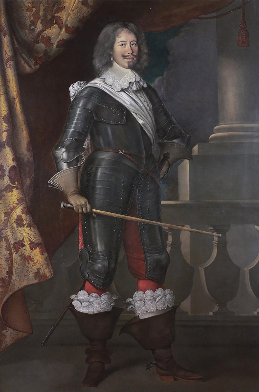 Жан-Арман дю Пейре, граф де Тревиль. 1644