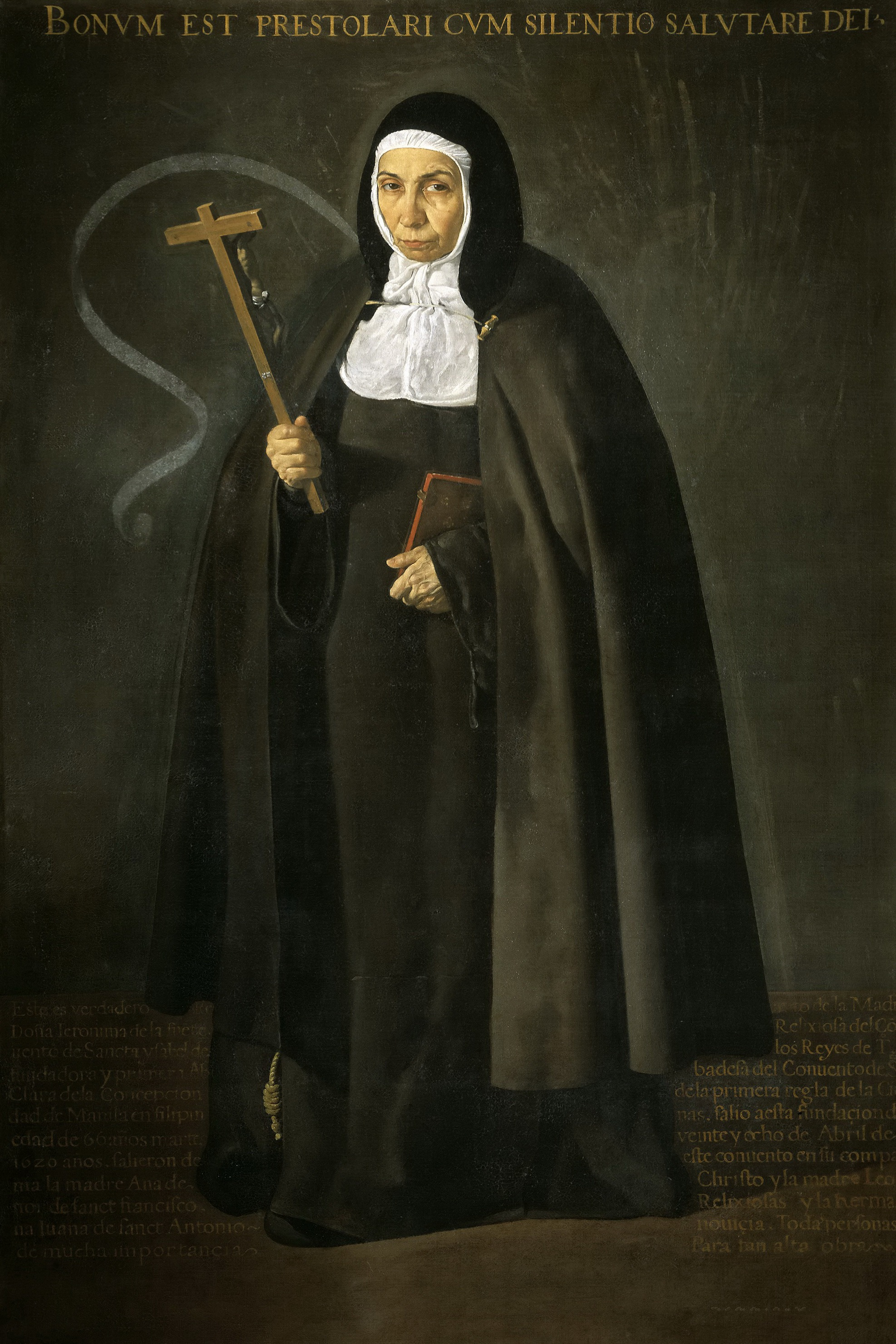 Диего Веласкес. Матушка Херонима де ла Фуэнте. 1620