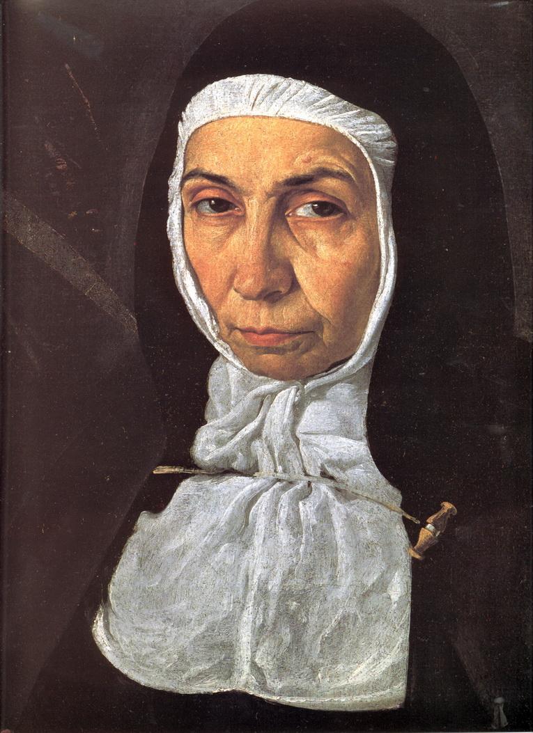 Диего Веласкес. Матушка Херонима де ла Фуэнте. 1620 (фрагмент)