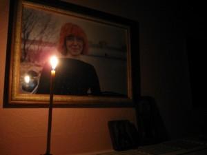 Наташин портрет и свечка