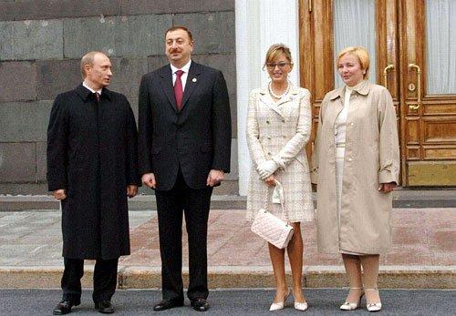 Алиева с Путиным.