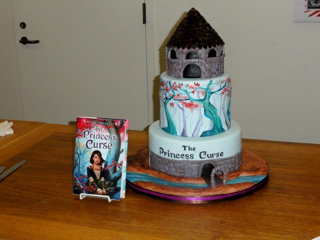 cake and book