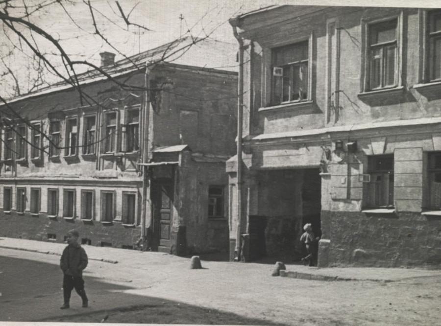 Южинский переулок начала 60-х годов