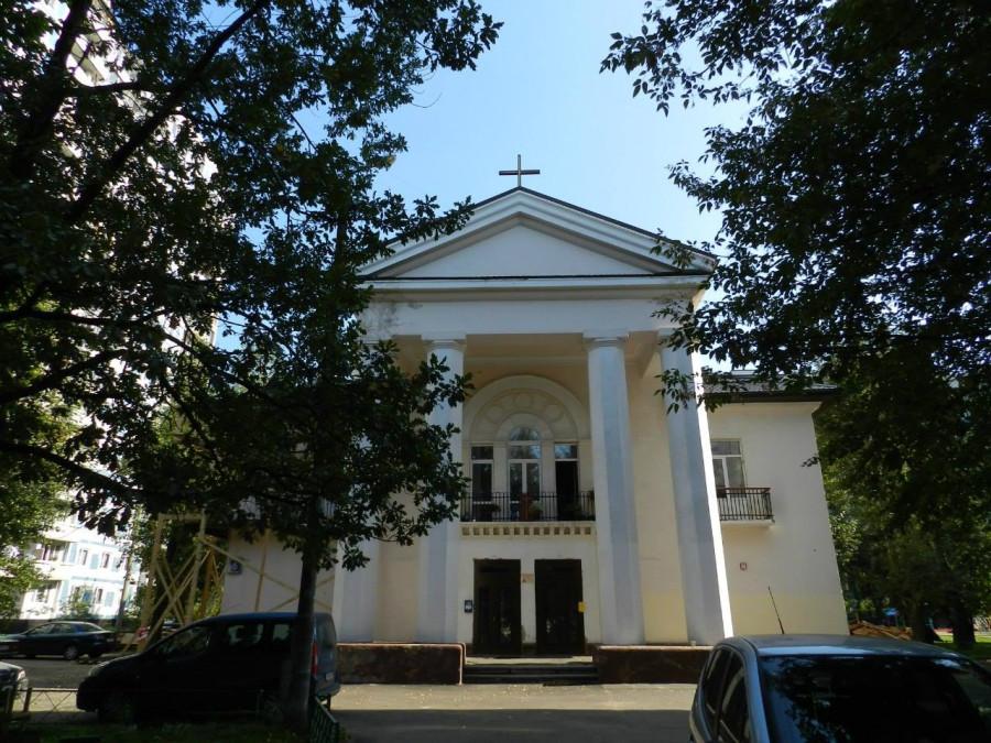 Костел в Люблино