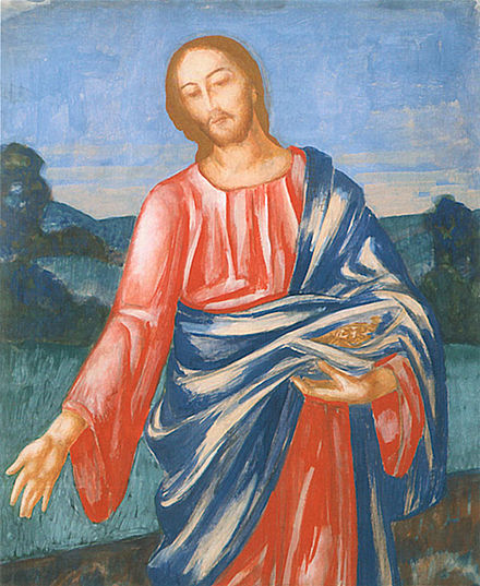 Христос-Сеятель на Введенском кладбище