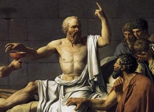 сократ с учениками
