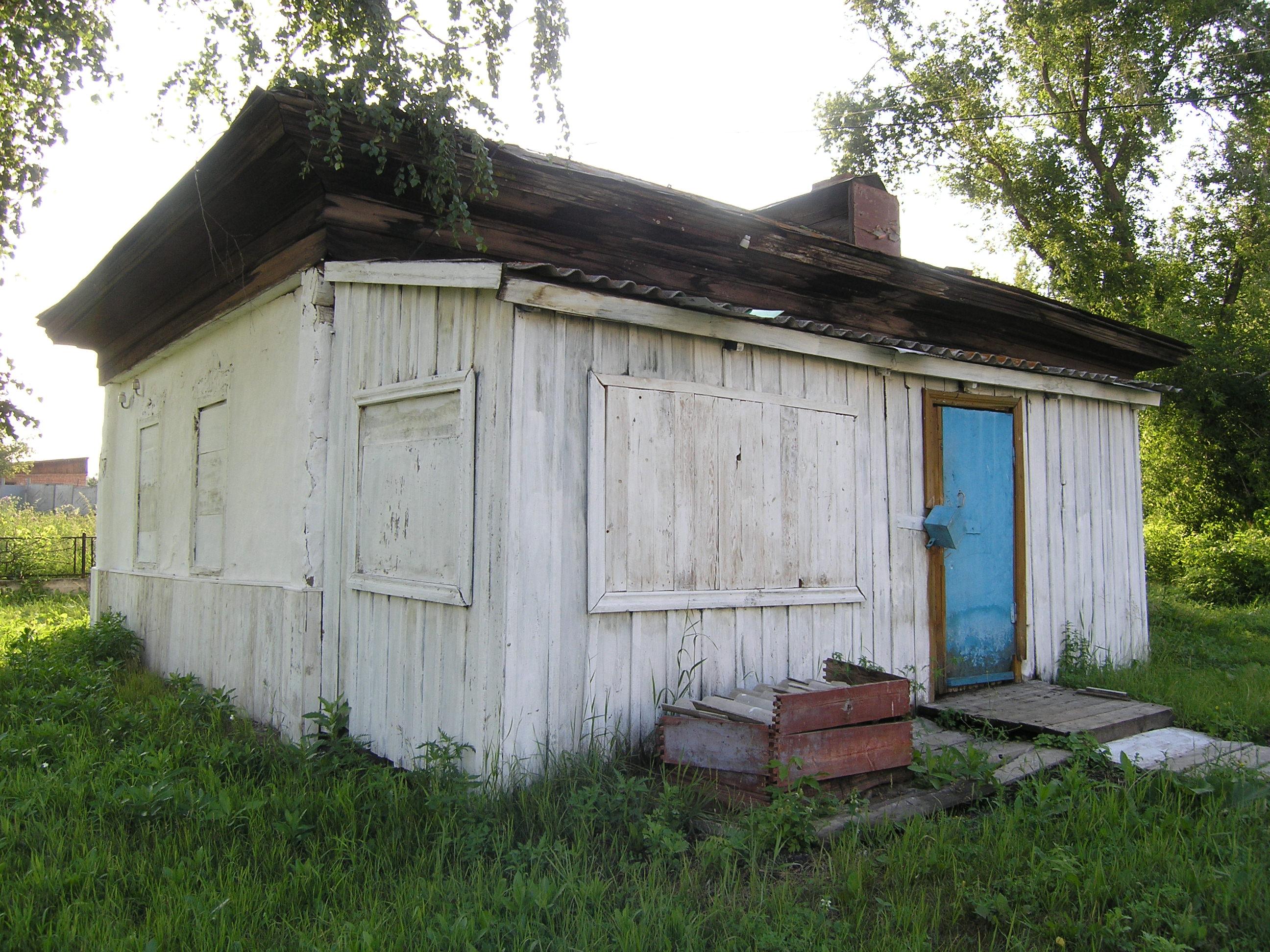 домик церковного сторожа