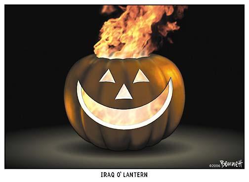 Iraq O' Lantern
