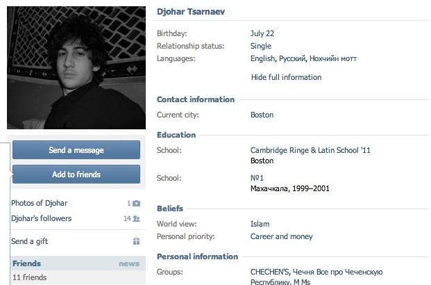 DjoharTsarnaevBostonBomber