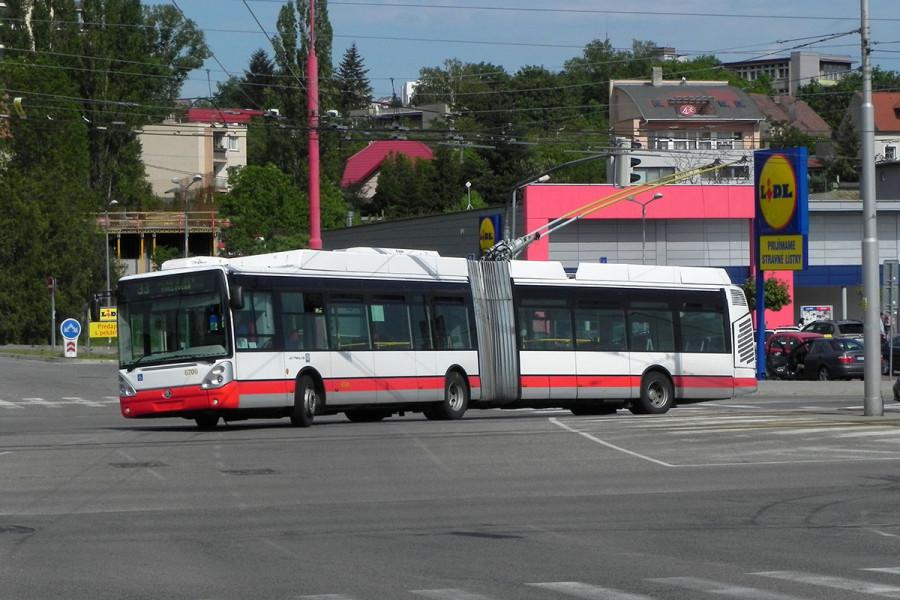 Вот салон этого троллейбуса.