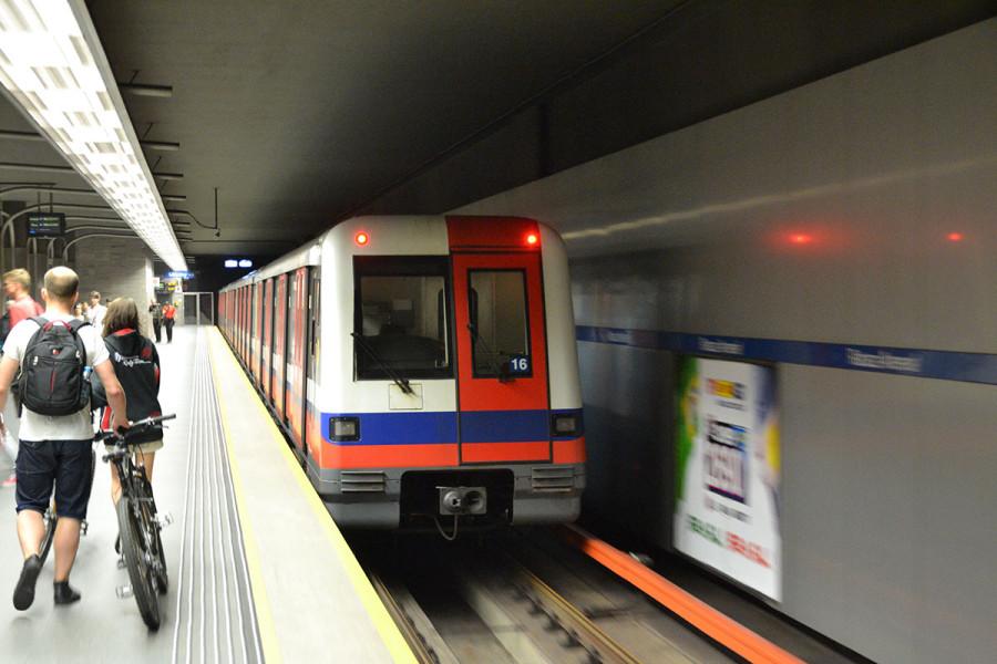 метро - Alstom Megapolis,