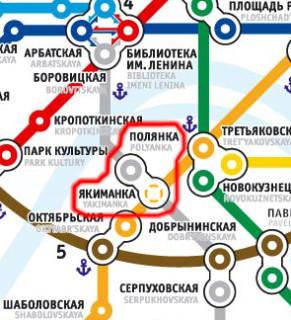 Место будщей станции