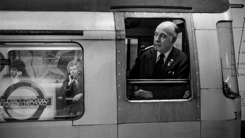 """1978 год. Станция """"Оксфорд-сёркус"""" на ветке """"Виктория"""""""