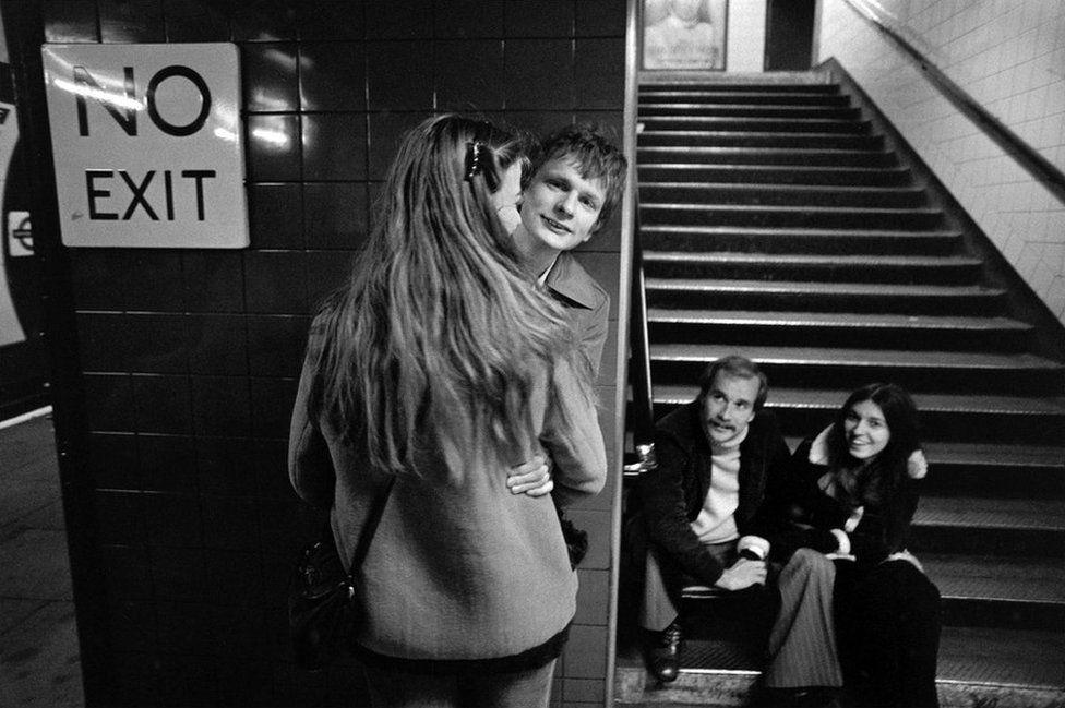 """Станция """"Оксфорд-сёркус"""", 1979"""