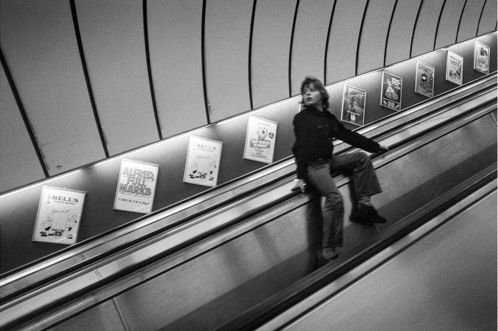 """Станция """"Кингс-кросс"""", 1972"""