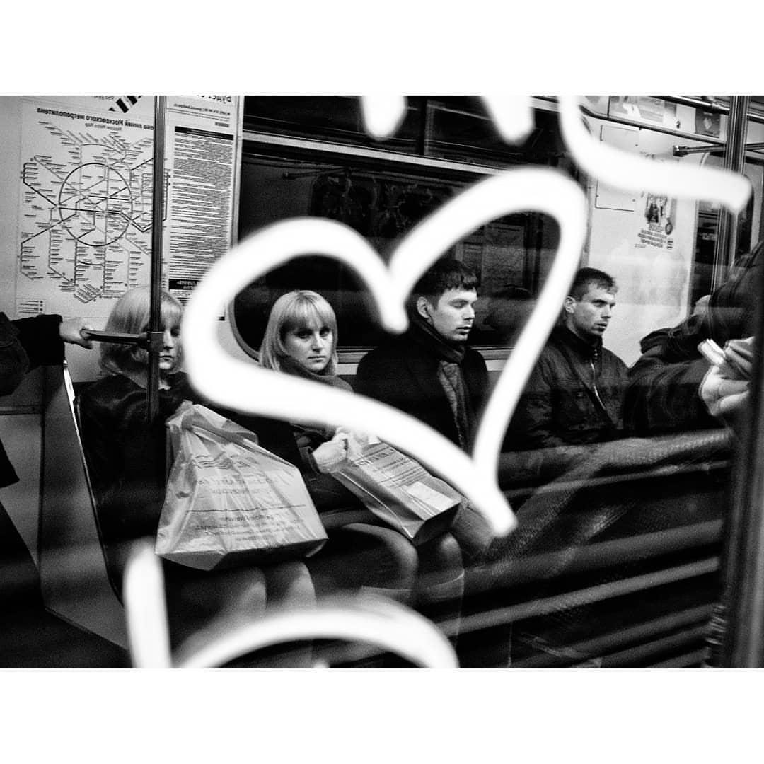 Окно поезда на Таганско-Краснопресненской ветке