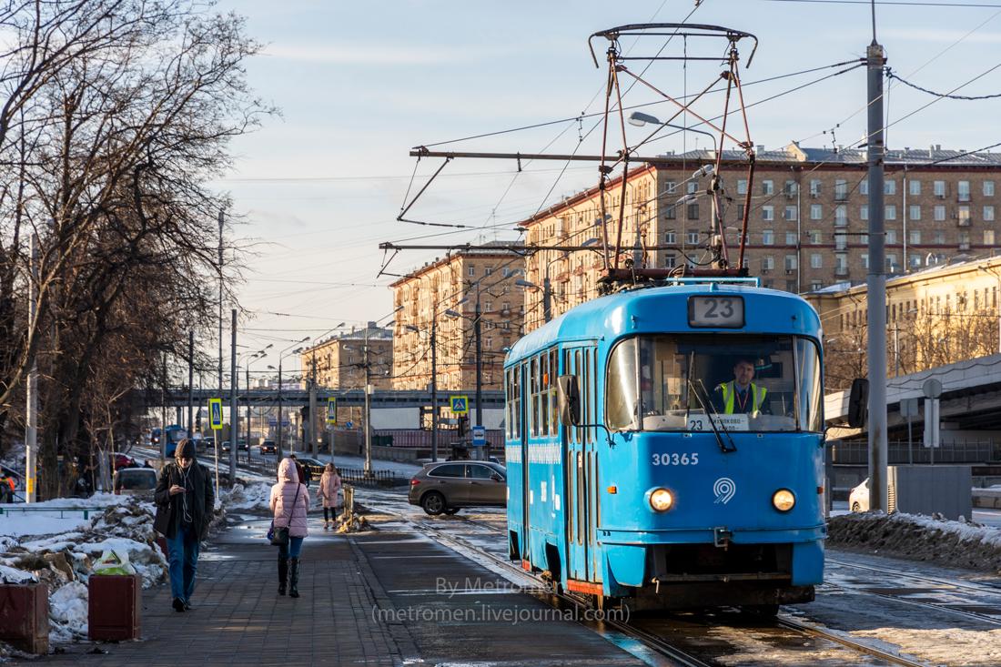 Трамвайный подвижной состав Москвы