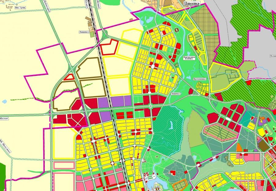части города Ульяновска