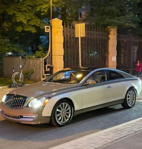 Майбах Муаммара. В Москве замечен супердорогой автомобиль, сделанный по заказу Каддафи