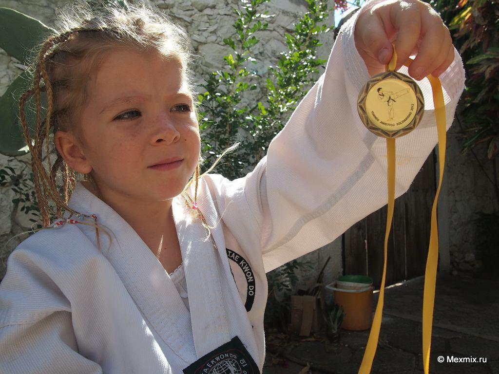 Первая золотая медаль Рамоны