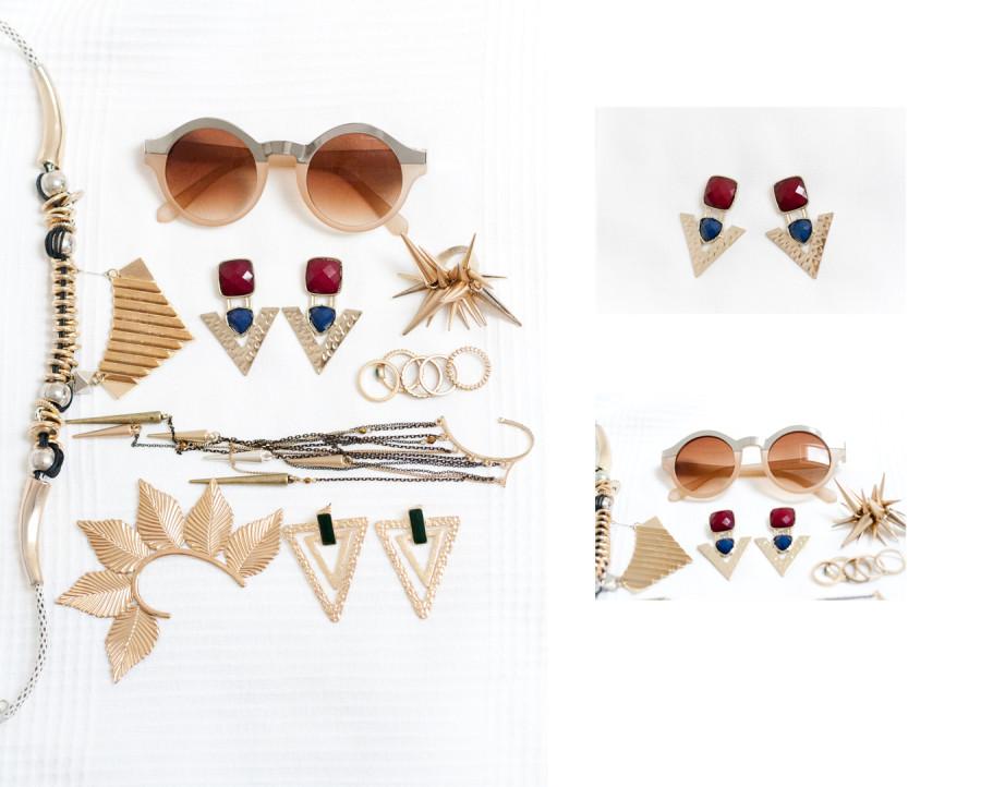очки и украшения