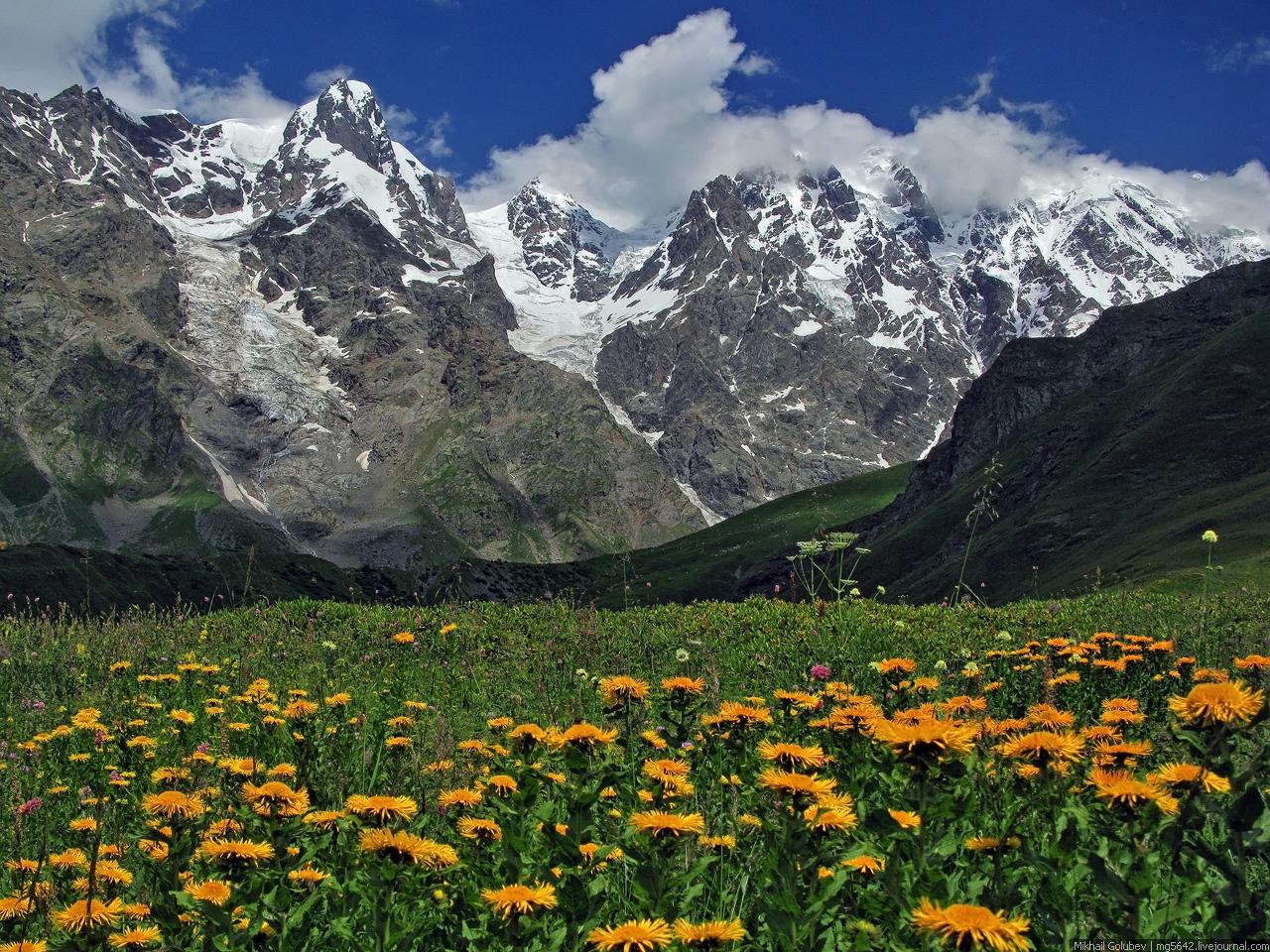Кавказ летом в картинках