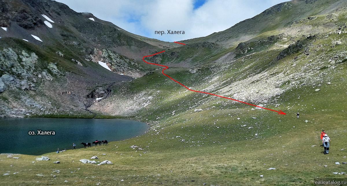 Отчет о путешествии по горам Карачаево-Черкесии ~ н/к с элементами 1 к.с.