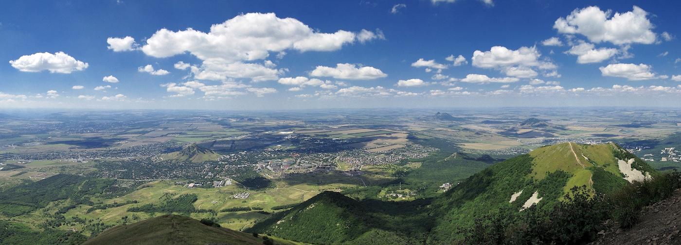 Отчет о ПВД через гору Бештау (Минеральныеы Воды) в августе 2020 г.