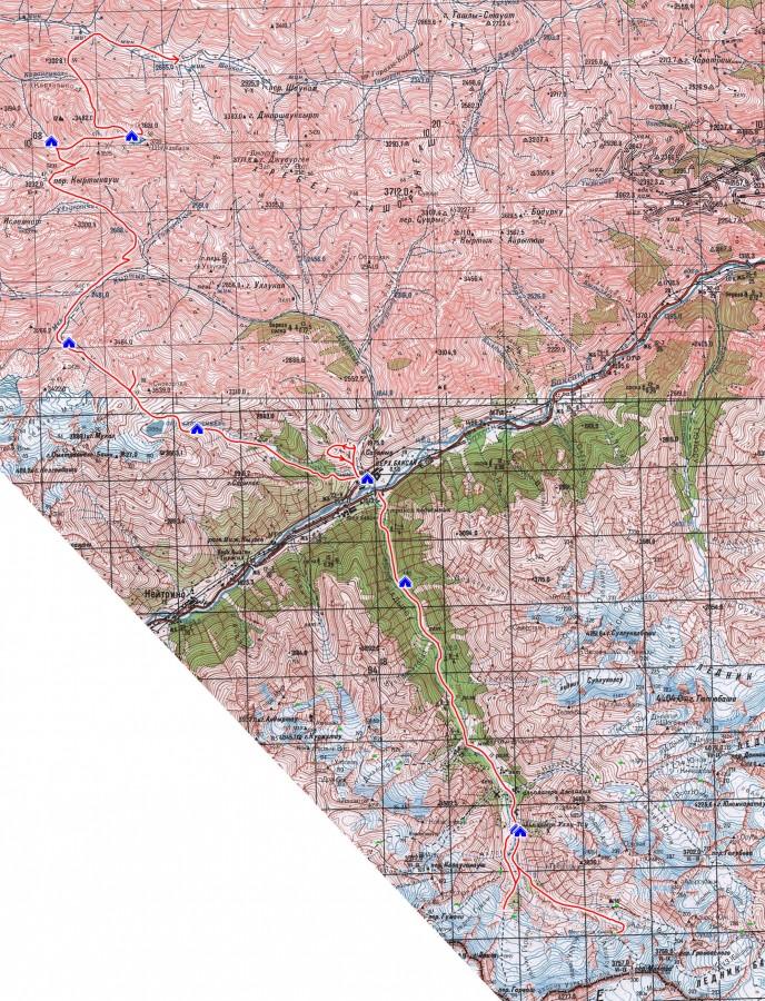 Отчет о походе по Приэльбрусью в августе 2020 г.