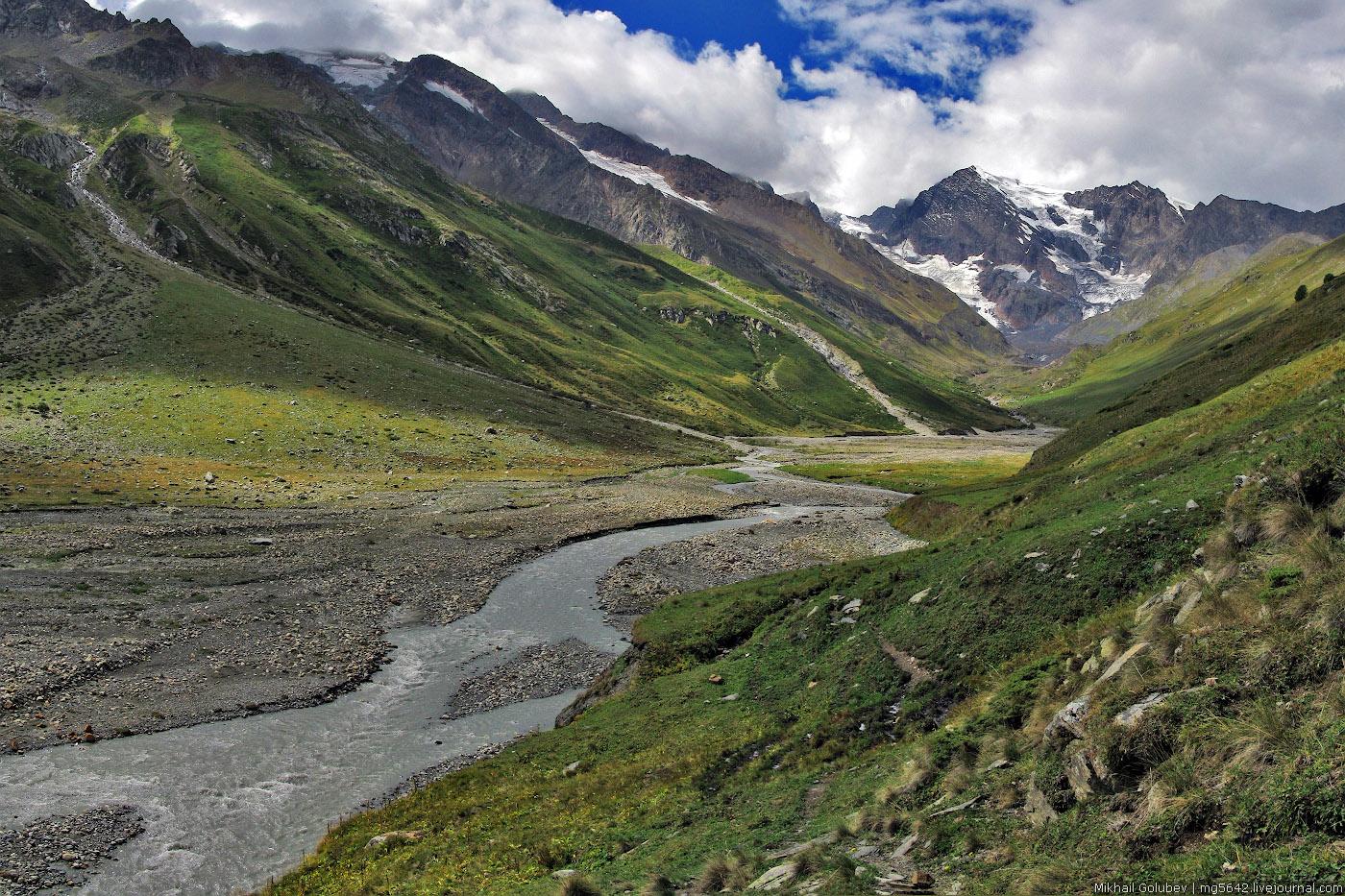 Обновление проекта 100 вершин Кавказа: Гезетау