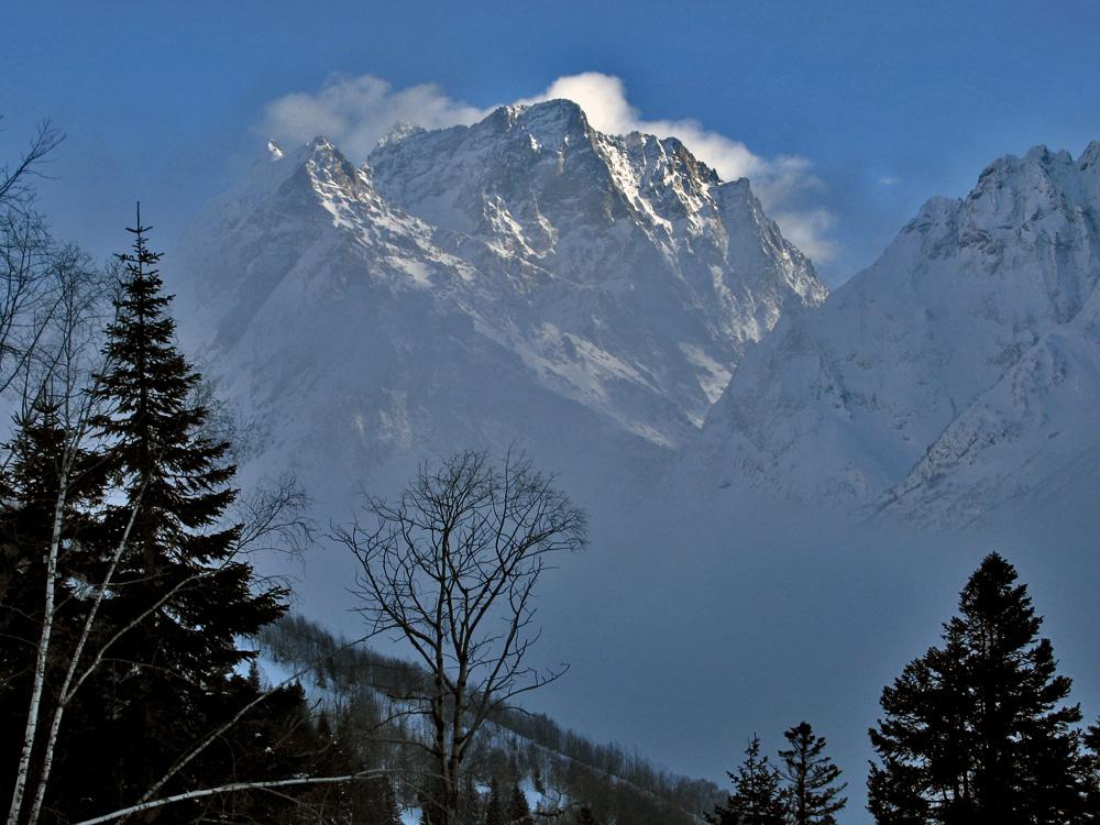 Картинки домбай горы