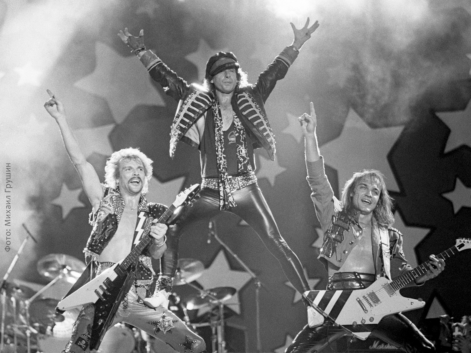 Группа Scorpions. Moscow Music Peace Festival
