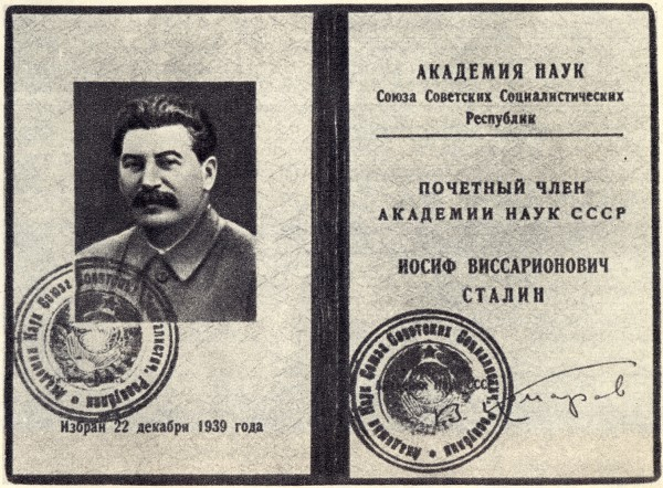 Joseph_Stalin._Honorary_member_of_the_Academy_of_Sciences_of_USSR