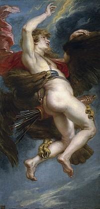 Зевс похищает Ганимеда