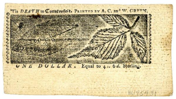 из истории дизайна долларов
