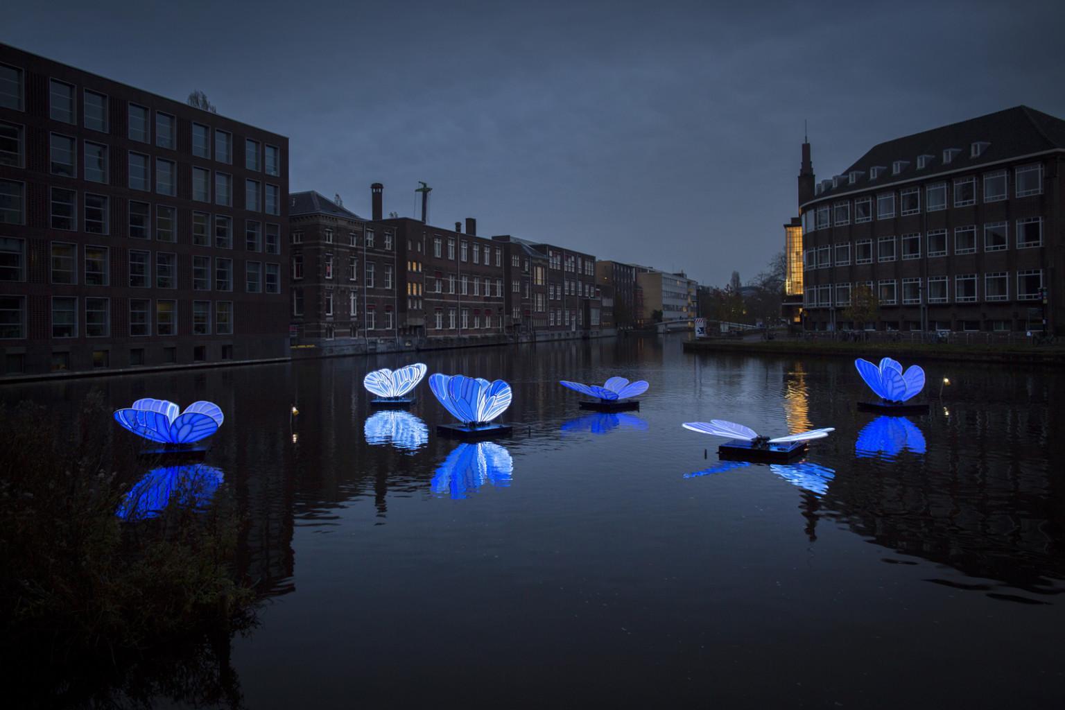 Восьмой Фестиваль света в Амстердаме