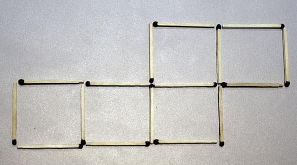 Как из пяти квадратов сделать один 29