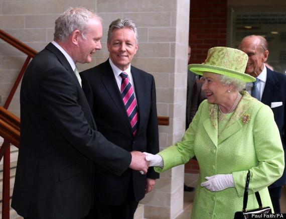 Queen meets IRA