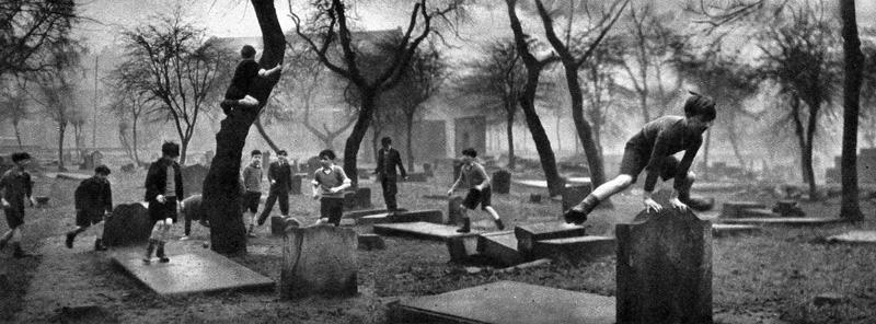 The Forgotten Gorbals, Glasgow, Scotland, 1948